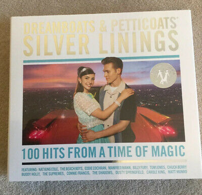 DREAMBOATS & PETTICOATS : Silver Linings (Various) 4 CD Set Released 08/11/2019