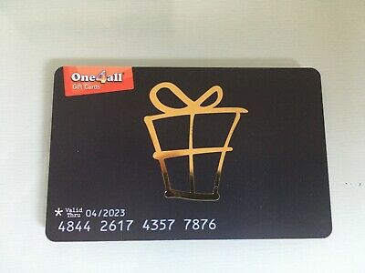 ONE4ALL Gift Card Voucher worth £50.00
