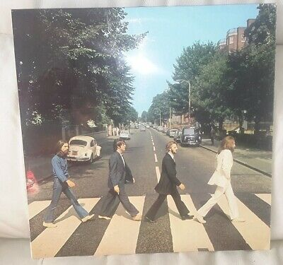 The Beatles Abbey Road Vinyl LP Orig 1969 PCS 7088 Apple Pop Rock Album