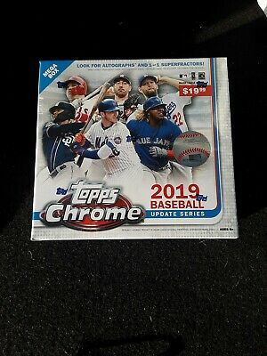 2019 Topps Chrome Update Mega Box Blaster