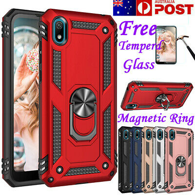 Shockproof Stand Magnetic Case Heavy Duty Hard Armor Cover For Huawei Y5 2019