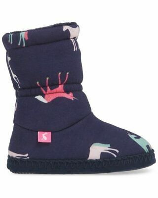 Joules Girls Slippers 4 Designs