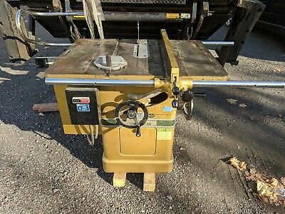 "Powermatic Model 66 10""  5Hp Left Tilt Table Saw"