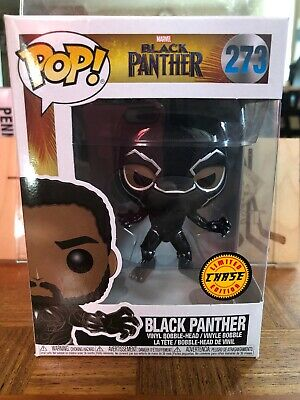 Funko Pop Marvel Black Panther Chase #273
