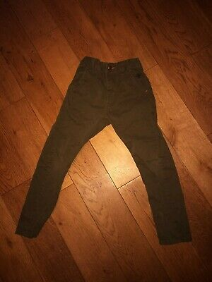 Next Smart Dark Green Trousers Age 6