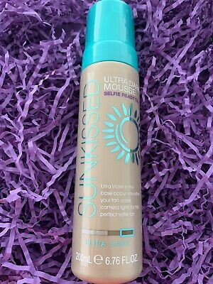 Sunkissed Self Tan Mousse 200ml - Ultra Dark