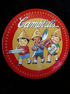 """Campbell's Soup Round Collectible Tin @  6 1/2"""""""