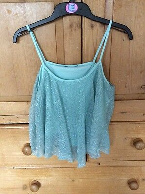 Girls New Look 915 camisole / sleeveless top age 14-15 ex con