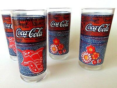 McDonald/'s 2019 Coca Cola Limited Edition Collector Glass BLUE Made in France