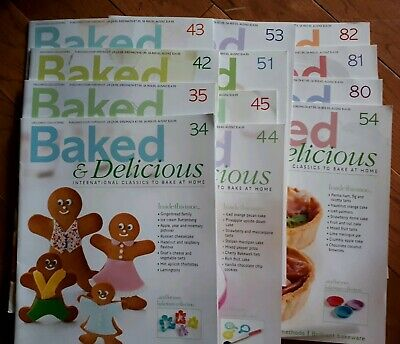 Baked & Delicious 12 editions