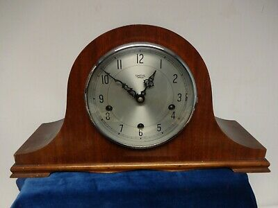 Vintage Smiths Enfield Westminster Chiming Mantle Clock.spares Or Repair.