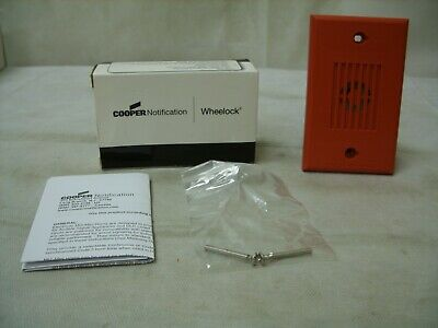 New Wheelock Cooper MT-24MCW-AR Multitone Horn Strobes 24 Volts
