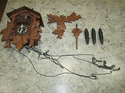 Cuckoo Clock Edelweiss Lara's Theme from Dr. Zhivago 6732-36 CUENDET