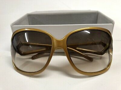Dior Women's Gold Large Sunglasses - Faultless