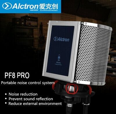 Alctron PF8 PRO Microphone Noise Reduction Foam Wind Screen Mesh Acoustic Filter