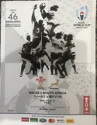 Wales v South Africa, 2019 Rugby World Cup semi-final, Yokohama 27th Oct 2019