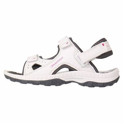 Karrimor Antibes Sandals Childs Girls White/Pink Flip Flop Thongs Beach Shoes