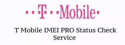 T-mobile USA IMEI CHECK Status Clean  Or Blocked-FAST RESULT