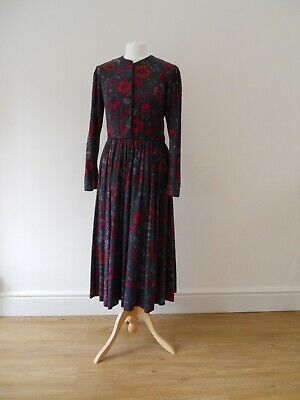 Laura Ashley vintage dress, size UK 12