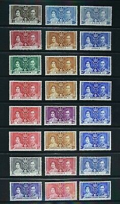 KGVI 1937 Coronation, a collection of 61 stamps, MM condition.