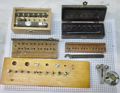 Job lot of watchmaker tools for spares or repair. No reserve.