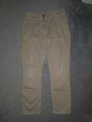 Lovely Girls Beige Chino Trousers Age 10 From Next