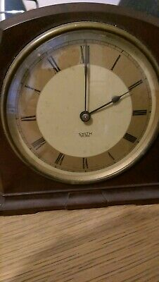 Smith Sectric brown Bakerlite clock 200 - 250v Electric clock