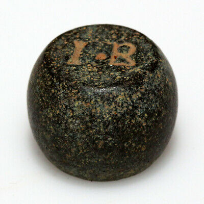 MUSEUM QUALITY BYZANTINE BARREL SHAPED WEIGHT 13.05 grams