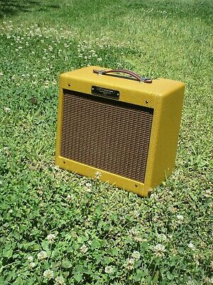 Classic Tweed Champ 5F1 All Tube Amp 5 Watts! The Best Champ out there! IN STOCK