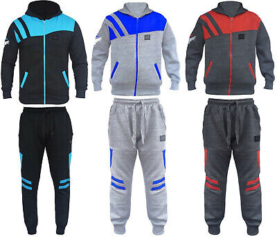 Kids HNL Boys/Girls 2 Pc Fleece Tracksuits,Hooded Jumper Jogging Suit Age7-14 ys