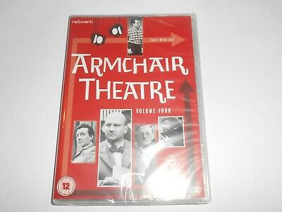 Armchair Theatre Volume 4 Four Disc Set *NEW/SEALED* Patrick McGoohan