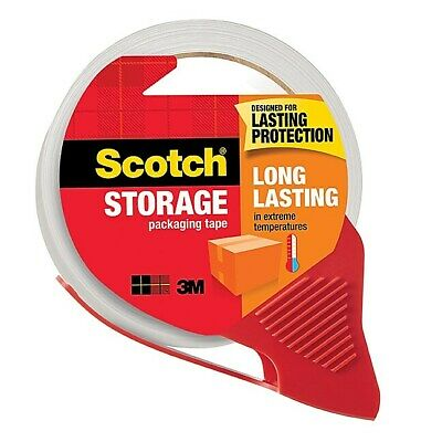 Scotch Moving & Storage Packing Tape with Refillable Dispenser 485437