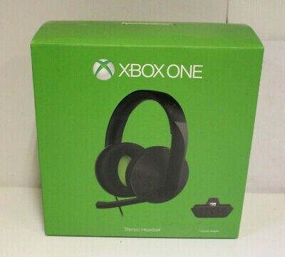 Xbox One Wired Stereo Headset & Mic Official Microsoft -EXTRA FAULTS