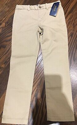 Ralph Lauren Girls Beige Chinos Trousers Size 5 Years RRP £59 Casual Trousers