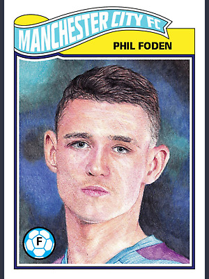 UCL THE LIVING SET #4 PHIL FODEN 2019-2020 Topps KICK DIGITAL CARD TRADER