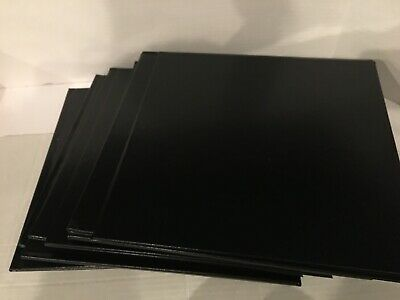 "Lot Of 10 Leather Like 12"" X 12"" Embossed Binding Covers unpunched"