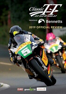 Classic Isle of Man TT 2019 Official Review DVD - bikes from 1950s to 1990s NEW