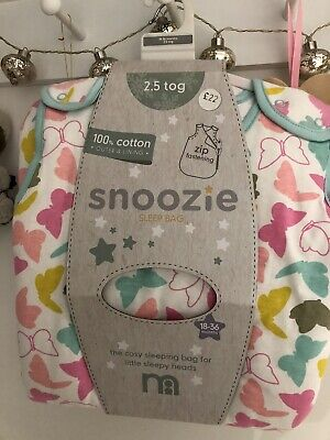 Mothercare Sleeping bag Size 18-36 Months 2.5 tog BRAND NEW
