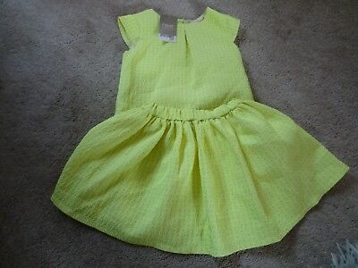 Next Girl 2-3 Years Top & Skirt Two-Piece Set New