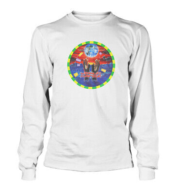 World Dance Dreamscape House Rave 90s Long Sleeved T shirt Unisex  All Sizes