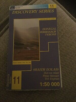 Discovery Map  No 11. Donegal/Fermanagh/Tyrone