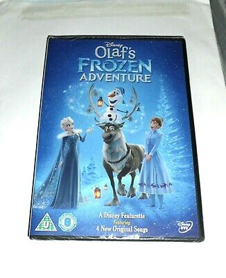 Disney Olaf's Frozen Adventure - NEW SEALED - Walt Disney DVD