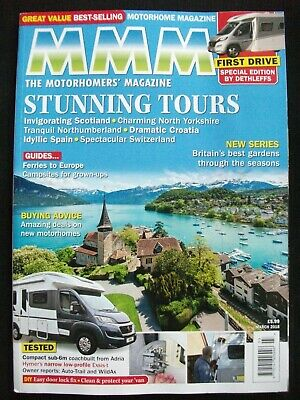 Motorhome Monthly Magazine - March 2018