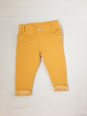 Primark 3-6 Months Yellow Skinny Jeans Denim Trousers Boys or Girls