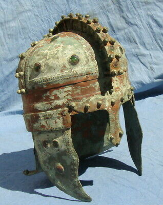 HELMET Late Roman Early Byzantine, Museum Repro Grand Maestro Workmenship