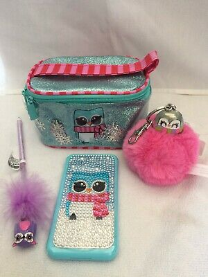 Claire's Cosmetic Bag, Phone Makeup, Keychain & Pen Gift Bundle