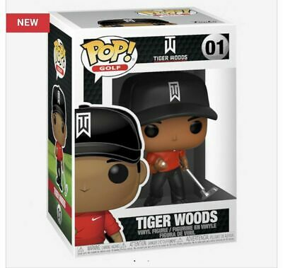 Funko Pop Tiger Woods (Red Shirt) Limited Quantities 2019 IN HAND  Ships TODAY