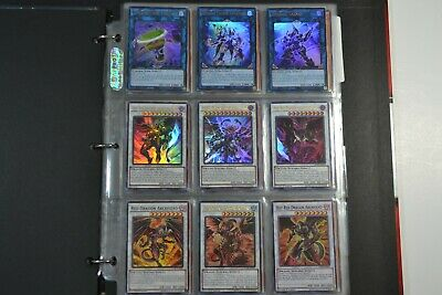 Yugioh Red Dragon Archfiend Lot Deck Collection 55 cards 10 Holos & Rares