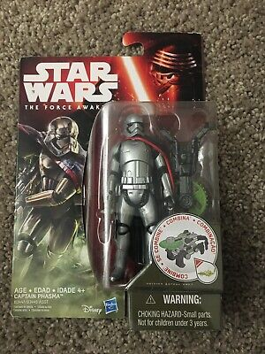 "CAPTAIN PHASMA Star Wars The Force Awakens 3.75"" Action Figure First Order"