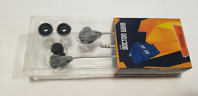 Doctor Who Earbuds: Weeping Angel with Extra Earbuds Included